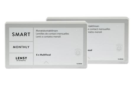 Lensy Monthly Smart Multifocal, 2 x 6 Stück