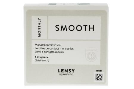 Lensy Monthly Smooth Spheric, 6 Stück Kontaktlinsen von Dynoptic