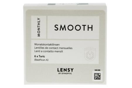 Lensy Monthly Smooth Toric, 6 Stück Kontaktlinsen von Dynoptic