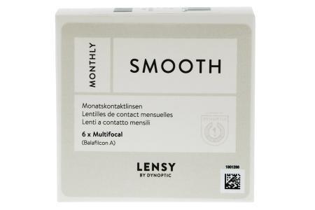 Lensy Monthly Smooth Multifocal, 6 Stück Kontaktlinsen von Dynoptic