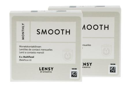 Lensy Monthly Smooth Multifocal, 2 x 6 Stück Kontaktlinsen von Dynoptic