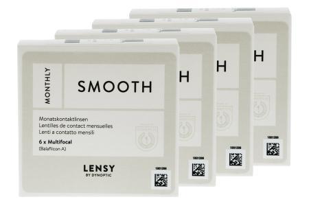 Lensy Monthly Smooth Multifocal, 4 x 6 Stück Kontaktlinsen von Dynoptic