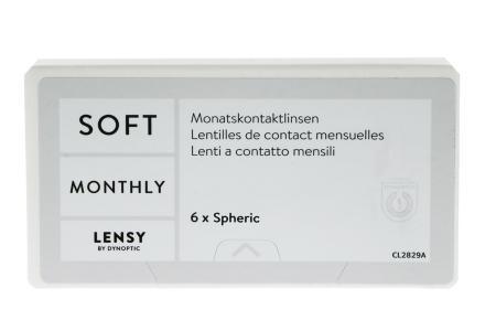 Lensy Monthly Soft Spheric, 6 Stück