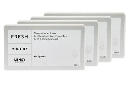 Lensy Monthly Fresh Spheric, 4 x 6 Stück