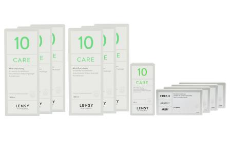 Jahres-Sparpaket, Lensy Monthly Fresh Spheric - Lensy Care 10