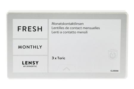 Lensy Monthly Fresh Toric, 3 Stück