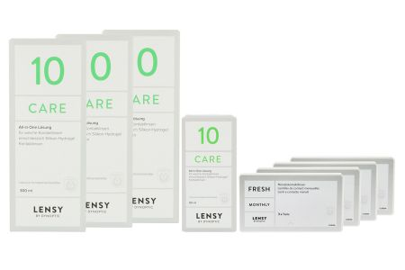 Halbjahres-Sparpaket, Lensy Monthly Fresh Toric - Lensy Care 10