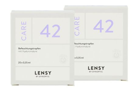Lensy Care 42 2x 20x0.35ml Augentropfen
