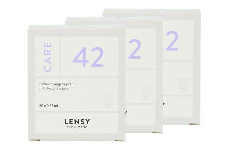 Lensy Care 42 3 x 20 x 0.35 ml Augentropfen | Lensy Care 42 3 x 20 x 0.35 ml Monodosen