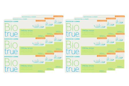Biotrue One day for Astigmatism Kontaktlinsen von Bausch & Lomb, Sparpaket 9 Monate 2x270 Stück