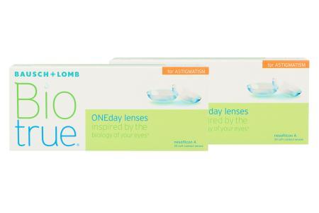 Biotrue One day for Astigmatism, 2x30 Stück Kontaktlinsen von Bausch&Lomb