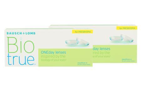 Biotrue One day for Presbyopia, 2x30 Stück Kontaktlinsen von Bausch&Lomb