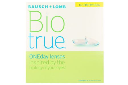 Biotrue One day for Presbyopia 90 Tageslinsen | Biotrue One day for Presbyopia, 90 Stück Kontaktlinsen von Bausch&Lomb