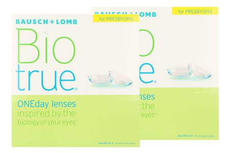 Biotrue One day for Presbyopia 2 x 90 Tageslinsen Sparpaket 3 Monate
