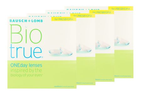 Biotrue One day for Presbyopia 4 x 90 Tageslinsen Sparpaket 6 Monate
