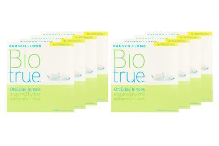 Biotrue One day for Presbyopia 8 x 90 Tageslinsen Sparpaket 12 Monate