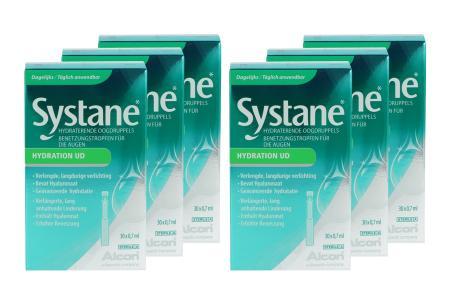 Systane Hydration UD 6 x 30 x 0,7 ml Augentropfen | Systane Hydration UD 6 x 30 x 0,7 ml in Einmaldosen