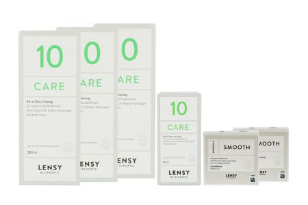 Halbjahres-Sparpaket, Lensy Monthly Smooth Multifocal - Lensy Care 10