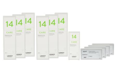 Jahres-Sparpaket, Lensy Monthly Soft Spheric - Lensy Care 14