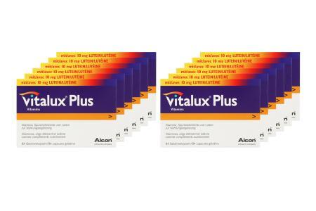 Vitalux Plus 12 x 84 Kapseln Nahrungsergänzung