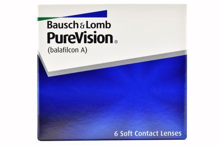 Pure Vision, 6 Stück Kontaktlinsen von Bausch & Lomb