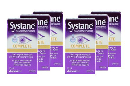 Systane Complete 6x 10ml