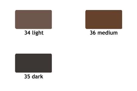Augenbrauenstift mit Bürste 1.2 g | Augenbrauenstift mit Bürste, wasserfest, 1.2 g