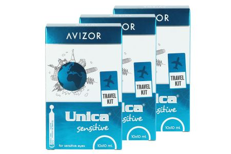 Unica sensitiv 3 x 10 x Monodosen à 10 ml All-in-One Lösung
