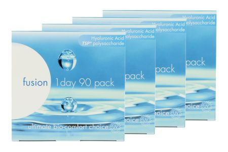 Fusion 1 Day 4 x 90 Tageslinsen Sparpaket 6 Monate | Fusion 1 Day Kontaktlinsen von Conil, Sparpaket 6 Monate 4 x 90 Stück