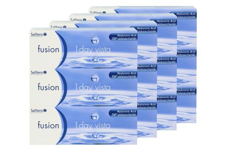Fusion 1 Day Vista 4 x 90 Tageslinsen Sparpaket 6 Monate   Fusion 1 Day Vista Kontaktlinsen von Conil, Sparpaket 6 Monate 4 x 90 Stück