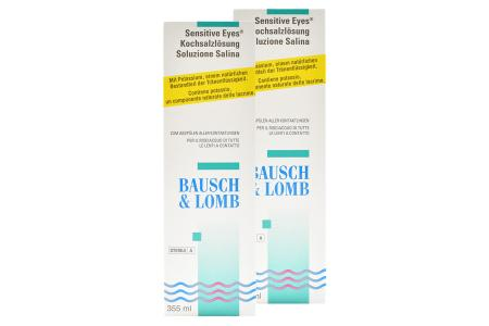 Sensitive Eyes 2 x 355 ml Kochsalzlösung | Sensitive Eyes Kochsalzlösung 2 x 355 ml