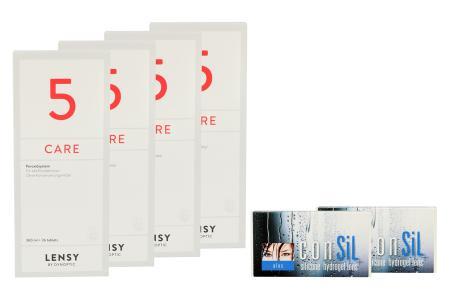 ConSiL Plus 2 x 6 Monatslinsen + Lensy Care 5 Halbjahres-Sparpaket