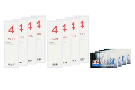 ConSiL Plus Toric 4 x 6 Monatslinsen + Lensy Care 4 Jahres-Sparpaket