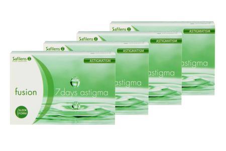Fusion 7 Days Astigma 4 x 12 Wochenlinsen