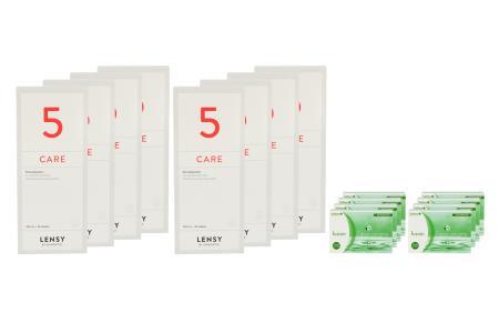 Fusion 7 Days Astigma 8 x 12 Wochenlinsen + Lensy Care 5 Jahres-Sparpaket