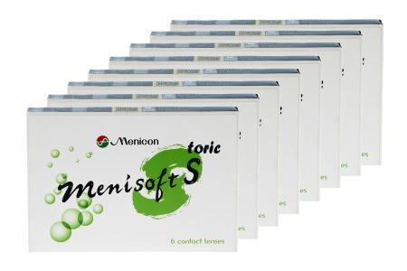 Menisoft S toric 8 x 6 Zwei-Wochenlinsen | Menicon S toric / 14-Wochenlinsen / Menicon PremiO toric