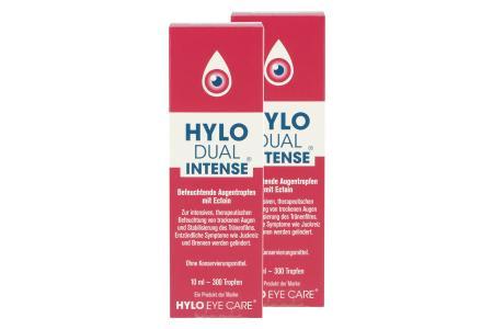 Hylo-Dual Intense 2 x 10 ml Augentropfen