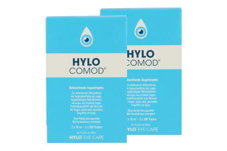 Hylo-Comod 4 x 10 ml Augentropfen | Hylo-Comod 2 x 10 ml Augentropfen | Benetzungstropfen