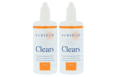 Clears 2 x 125 ml Reinigungs- und Aufbewahrungslösung | Clears 2 x 125 ml Reinigungs- und Aufbewahrungslösung