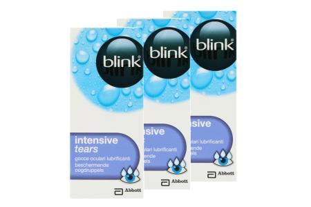 blink intensive tears 3 x 10 ml Augentropfen | blink intensive tears 3 x 10 ml Augentropfen | Benetzung