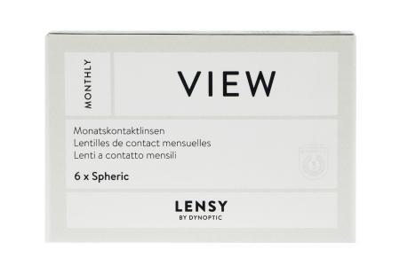 Lensy Monthly View Spheric 6 Monatslinsen   Lensy Monthly View Spheric 6 Monatslinsen   Lensy by Dynoptic