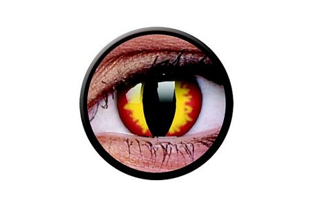 Funny Lens 2 Motiv-Tageslinsen Dragon Eyes | Funny Lens 2 Motiv-Tageslinsen Dragon Eyes