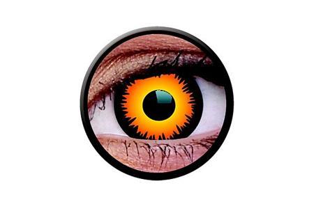 Funny Lens 2 Motiv-Tageslinsen Orange Werewolf | Funny Lens 2 Motiv-Tageslinsen Orange Werewolf