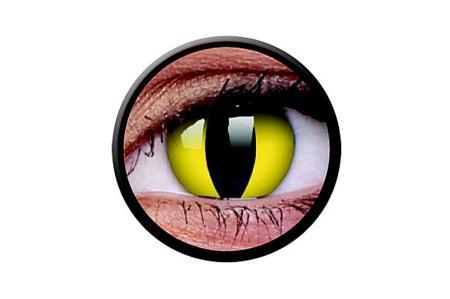 Funny Lens 2 Motiv-Drei-Monatslinsen Cats Eye | Funny Lens 2 Motiv-Drei-Monatslinsen Cats Eye