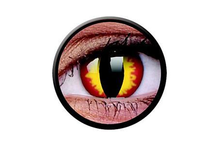 Funny Lens 2 Motiv-Drei-Monatslinsen Dragon Eyes