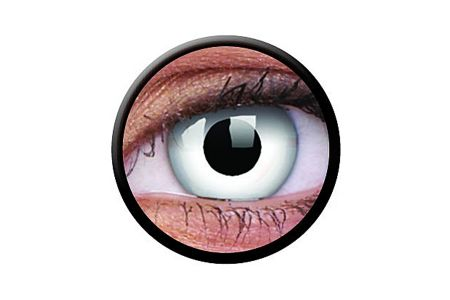 Funny Lens 2 Motiv-Drei-Monatslinsen Whiteout | Funny Lens 2 Motiv-Drei-Monatslinsen Whiteout