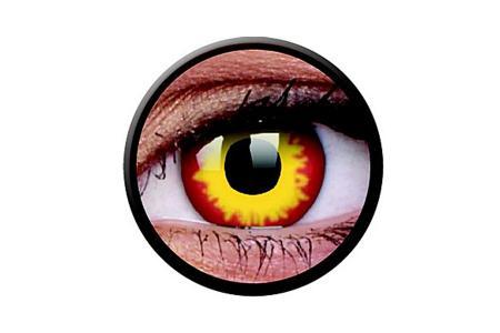 Funny Lens 2 Motiv-Drei-Monatslinsen Wildfire