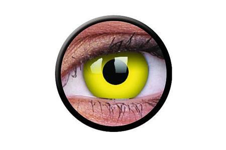 Funny Lens 2 Motiv-Drei-Monatslinsen Yellow