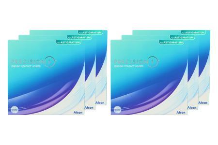 Precision 1 for Astigmatism 6 x 90 Tageslinsen Sparpaket für 9 Monate |