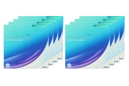 Precision 1 for Astigmatism 8 x 90 Tageslinsen Sparpaket für 12 Monate |